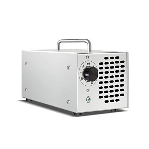 BBGS Actualizado Generador de Ozono Comercial, 5000mg Desodorante de Aire O3 Industrial Limpiar La Máquina para El Hogar, La Oficina, El Barco Y El Coche, Negro (Color : 10G/H)