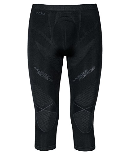 Odlo - Evolution Warm Muscle Force Pants 3/4, Color Negro, Talla XXL