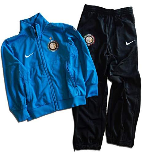 Nike Trainingsanzug F.C.Inter Boys Offizielles Produkt (XSBoys - 116/128 cm - 6/8 Jahre)