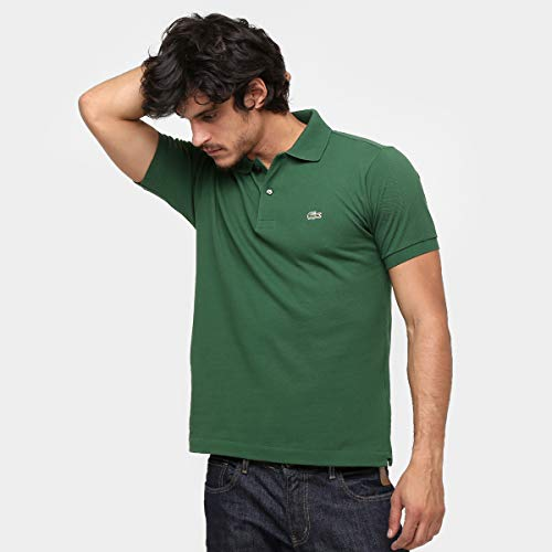 Polo Lacoste Original Fit L123021-B07 3-P Verde/Mu