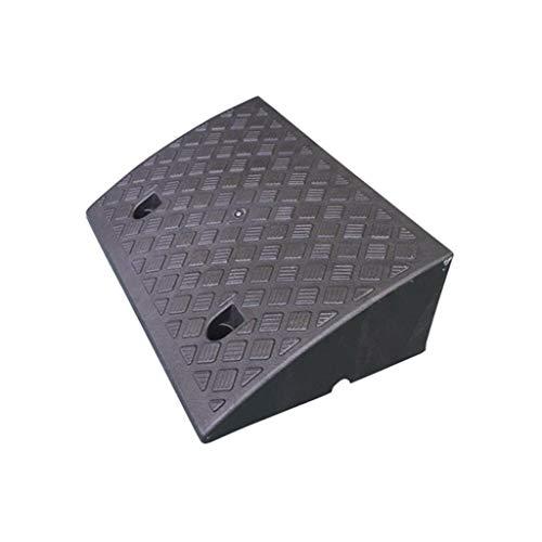 ChenB- Small Tools Mobile Skateboard Werkzeug, Schule Apartment Platz for Schritt Rampen Schlupf Muster Schraubbefestigung Wasserdichten Anti-Aging-Curb Ramps (Color : Black, Size : 50 * 33 * 17CM)