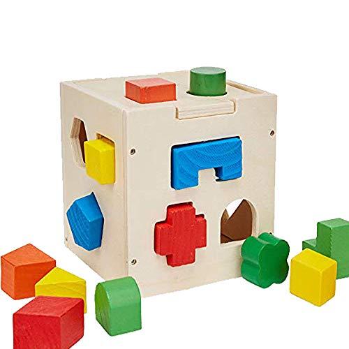 Formen Sortier Spiel Holzkiste Spielzeug Farbe Erkennen Matching Puzzle Mädchen Kinder Frühe Erziehung für 3 Jahre Alt