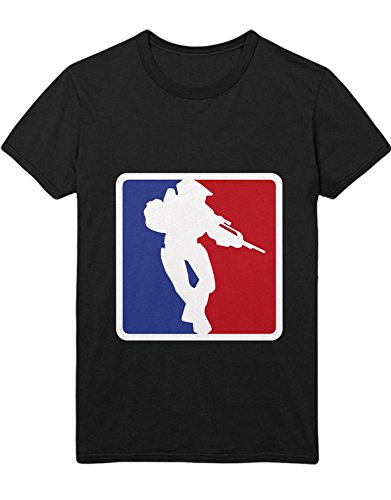 T-Shirt Halo NBA Logo Style Z100072 Schwarz L