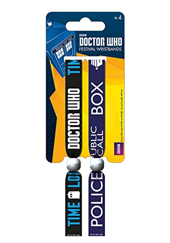 Sons Of Anarchy Muñequera Doctor - Who Call Box, multicolor, 10 mm