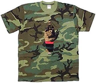 (シュプリーム) Supreme メンズ デッドプレズコラボTシャツ ウッドランドカモ Supreme/DEAD PREZ RBG TEE FW19T3 L [並行輸入品]