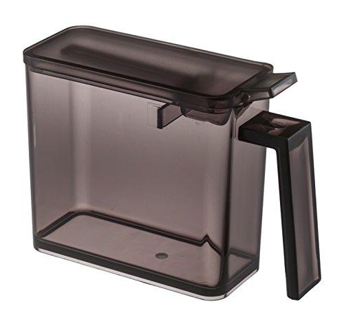 Yamazaki Home Contenedor de almacenamiento de especias, pequeño, color negro