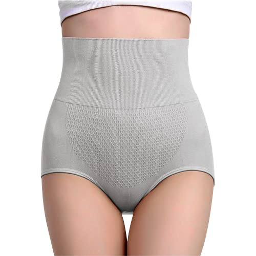 Health Magic Pants Gris (TALLA XL/2XL) Braguitas Moldeadoras Faja Reductora Lencería para Mujer Pantalón Sin Costura Braga de Cintura Alta Control de Barriga Levanta Glúteos Estiliza Cadera ⭐