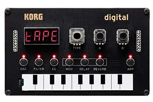 KORG Nu:Tekt NTS-1 Digital Kit, programmierbarer Synthesizer, DIY Synth Baukasten, mächtige Synthese- und Multieffekt-Engine