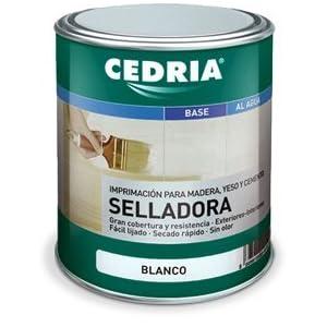 Selladora Imprimación Cedria 4 litros Blanco
