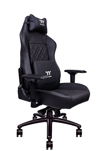 Tt eSPORTS X Comfort Sedia da Gaming, Nero