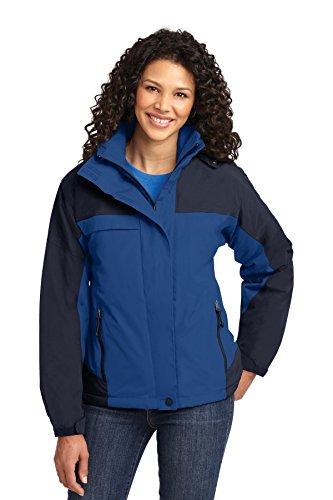 Port Authority® Ladies Nootka Jacket. L792 Regatta Blue/Navy XXL