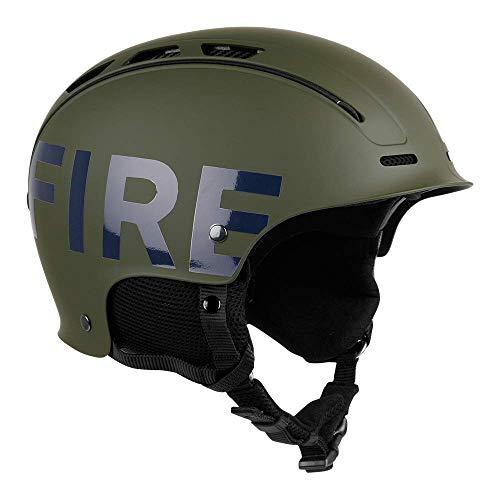 Bogner Fire + Ice Helm | Olive | Ski & Snowboard | Hochwertige Qualität (Olive, M | 56-59 cm)
