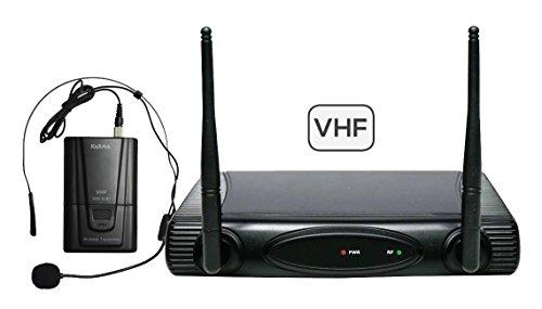 VHF micrófono inalámbrico diadema