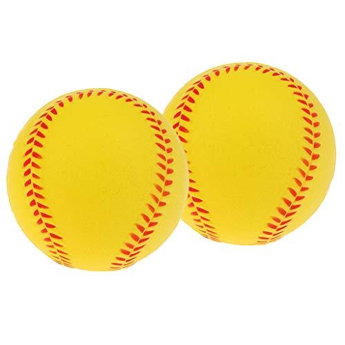 N/A/a Juego de 2 Juegos de Softbol de Calidad para Niños Y Estudiantes - Amarillo