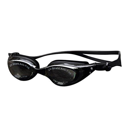 Tookang Gafas De Natación Miope (150 A 800) Miope Anti-Vaho Impermeable Gafas De Protección UV Para Hombres De Corta Visión Nadadores De Mujeres Y Jóvenes