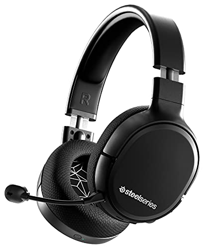 SteelSeries Arctis 1 Wireless - Wireless Gaming Headset - USB-C - Detachable Clearcast Microphone - for PC, PS5, PS4, Nintendo Switch, Android, Black