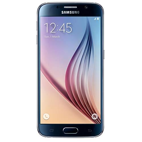 Samsung GALAXY S6 G920 32GB Unlocked GSM 4G LTE Octa-Core Smartphone - Black Sapphire (Renewed)
