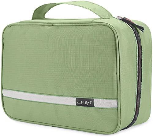 Archile Bolsa de Aseo Grande para Hombres y Mujeres, Make Up Bag, Bolsa de baño a Prueba de Agua cosmética para Viajes de Negocios (Verde) (Color : Light Green)