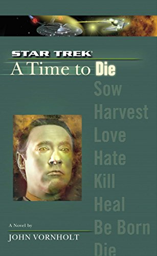 A Star Trek: The Next Generation: Time #2: A Time to Die (English Edition)