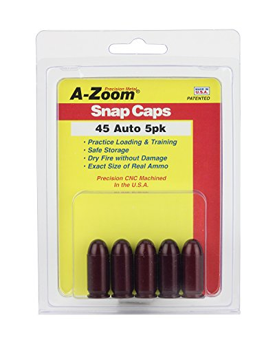 A-Zoom Pufferpatrone 5 Kal. .45 Auto, Z15115