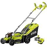 Ryobi RLM18X33H-40 RLM18X33H-40 Lawnmower (33 cm Cutting Width, 4 Ah, 18 V