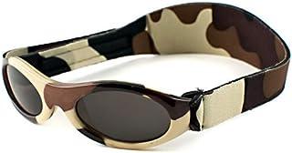 BANZ: Adventure BANZ - Baby: Brown Camo Kids Sunglasses   Age: 0-2 Yrs.