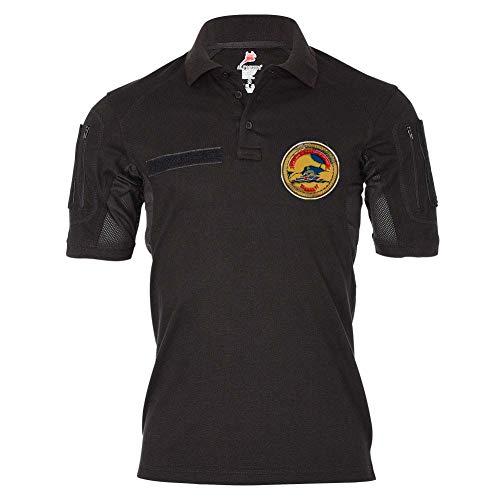Copytec DAIMA HAZIR Tactical Poloshirt Turkey Türk TUR Türkiye Halbmond Stern #24724, Größe:L, Farbe:Schwarz