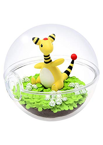 Unbekannt Pokemon Pokeball Terrarium Figure Collection Part 5~181 Denryu Ampharos Pharamp