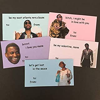 Gucci Mane Mini Valentine's Day Cards