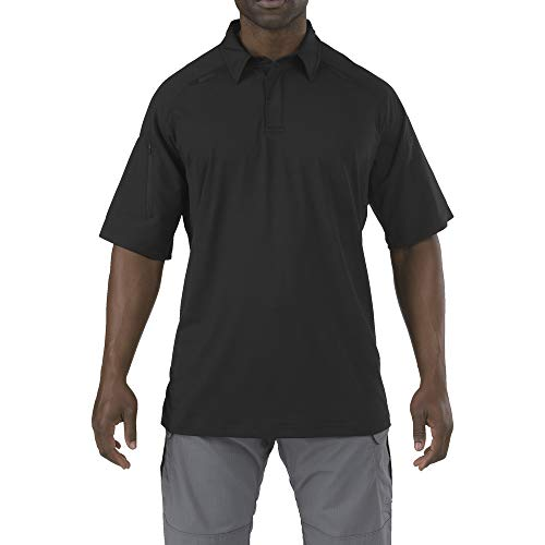 5.11 Tactical Series Rapid PERFORMANCEPOLO Polo Homme, Black, FR : M (Taille Fabricant : M)