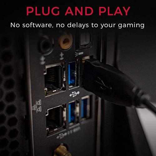 BenQ Zowie EC2 Ergonomic Gaming Mouse for Esports   Professional Grade Performance   Driverless   FPS Matte Black Non-Slip Coating   Medium Size