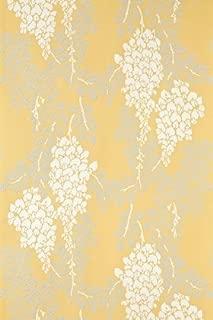 Farrow & Ball - BP2212 - Wisteria Wallpaper - Yellow