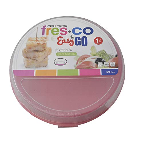 Portatortillas Circular de 20cm para ensaladas/Tortillas. Diseño Colorido - Hogar y más - C