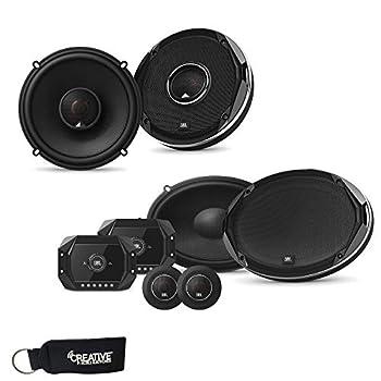 JBL - Stadium GTO960C 6x9-Inch Component Speakers and a Pair of Stadium GTO620 6.5-Inch Coaxial Speakers