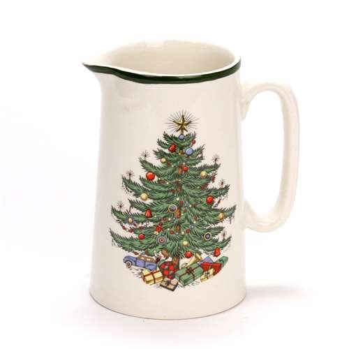 Original Christmas Tree by Cuthbertson, China Pitcher