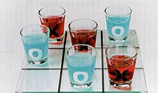 Luminarc Tic-Tac-Toe Shot Glass Drinking Game Set