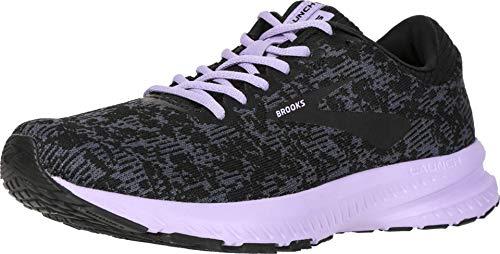 Brooks Launch 6 Ebony/Black/Purple Rose 10 B (M)
