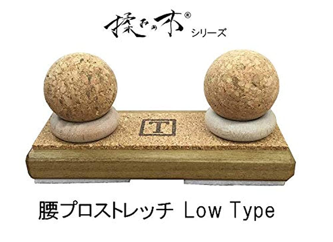カウンターパート運搬率直な『揉みの木シリーズ 腰プロストレッチ Low Type』つぼ押しマッサージ器 背中下部 腰 セルフメンテナンスを強力にサポート
