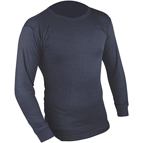 HIGHLANDER T-Shirt Thermique à Manches Longues pour Homme Bleu Bleu Roi Small