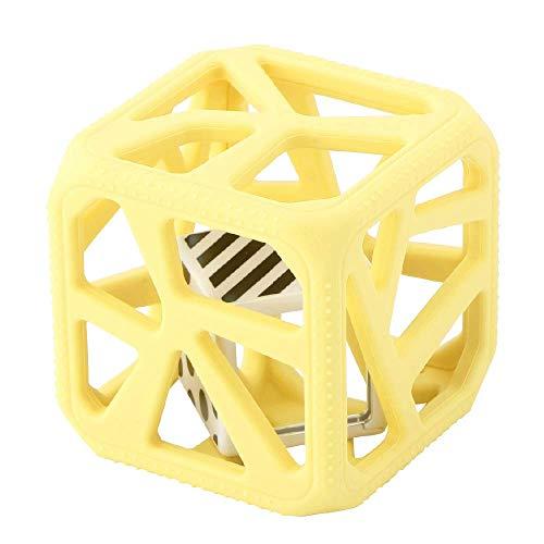 Malarkey Kids(マラーキーキッズ) チューキューブ 歯がため 【日本正規品】 おしゃぶり おもちゃ MK-CC06Y Yellow