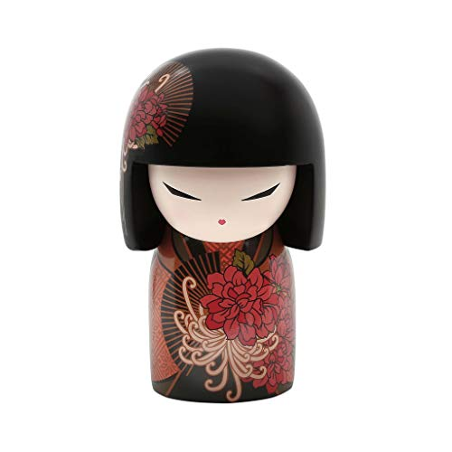 Kokeshi Kimmidoll 10 cm Neue Edition Tatsuyo – Strong Hearted Version Englisch