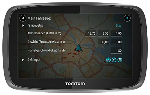 GPS para camiones TomTom Trucker 6000 Lifetime Edition
