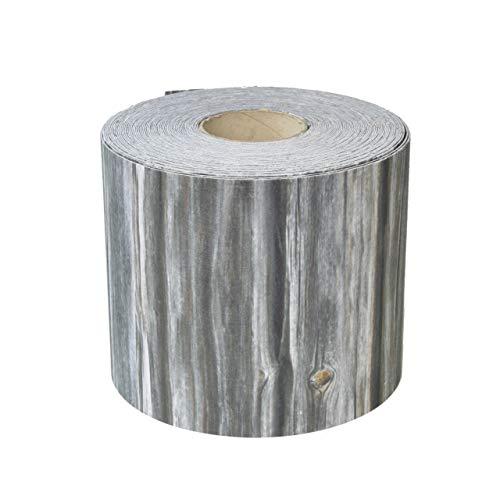Videx Sichtschutzstreifen Bedruckt für Doppelstabmatten, Holzbohlen, B: 19 cm, L: 26 m