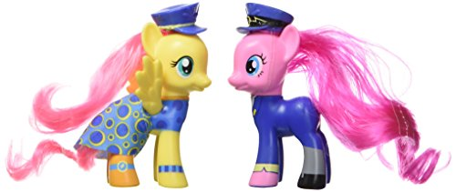 My Little Pony Friendship is Magic Wonderbolts Fluttershy & Pinkie Pie Exclusive 3' Figure 2-Pack
