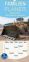 Maschinen - Mal anders gesehen - Familienplaner hoch (Wandkalender 2022 , 21 cm x 45 cm, hoch): Baumaschinen und landwirtschaftliche Geraete aus einzigartiger Sicht und bemerkenswerter Bearbeitung. (Monatskalender, 14 Seiten )