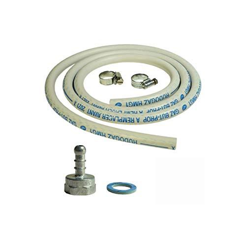 petit un compact Kit de raccordement de tuyau de gaz + adaptateur de mamelon + accessoires de cuisinière à gaz et de gril