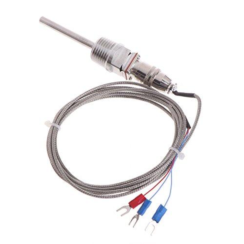 peng RTD Pt100 temperatuursensor sonde L 5cm 1/2