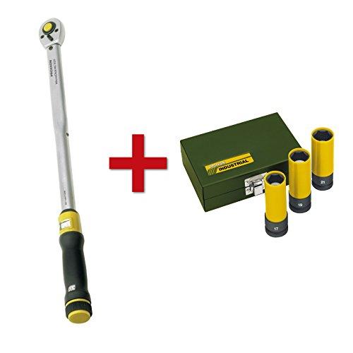 Proxxon Drehmomentschlüssel MicroClick MC 320, 60-320 Nm, 1/2
