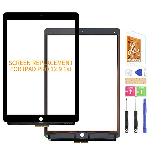 Per iPad Pro 12.9 2015 1 ° 1 Touch Screen Sostituzione A1652 A1584 TouchScreen Digitizer Pannello Sensore Lens Kit (senza LCD) (nero)