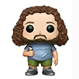 naiping Lost Pop Figure Hurley Hugo Reyes Chibi Vinly PVC Decor Collection Model Collector's Item